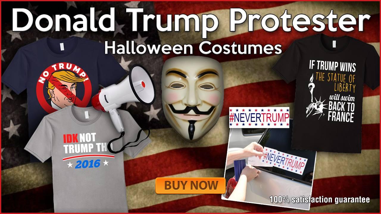 Donald Trump Protester Halloween Costumes