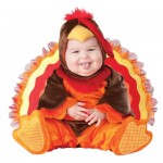 Infant Turkey Gobbler Costume