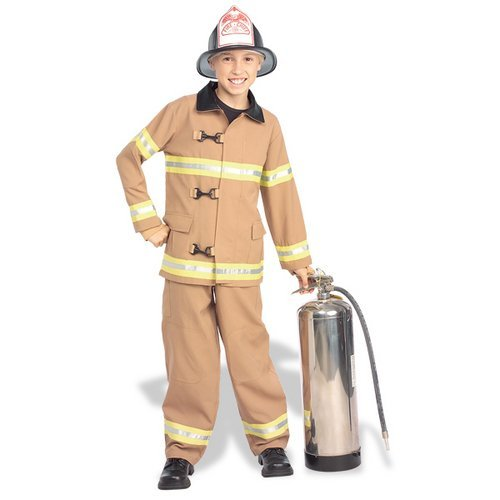 Kids Fireman Halloween Costume