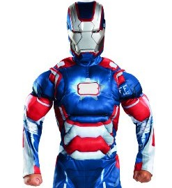 Marvel Iron Man 3 Patriot Boys Halloween Costume