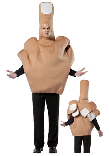 Middle Finger Halloween Costume