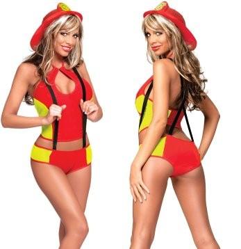 Sexy Fireman Halloween Costumes