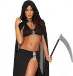 Sexy Grim Reaper Halloween Costumes