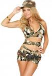 Sexy Soldier Girl Halloween Costume