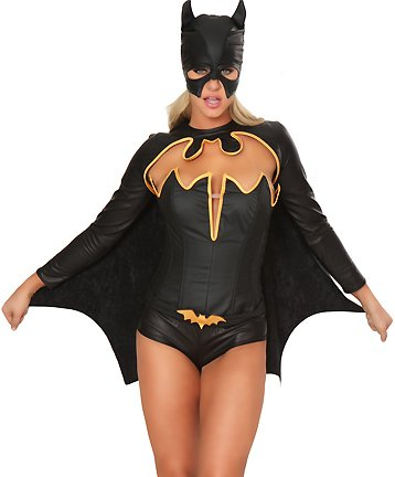 Sexy batman costume for women