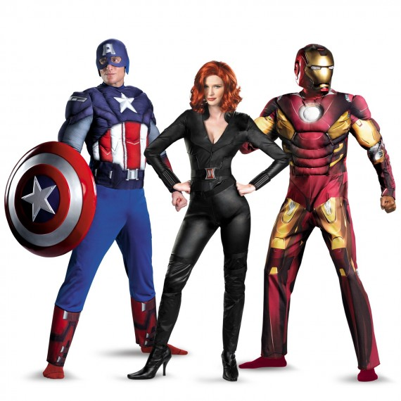 Marvels Avengers Halloween costumes