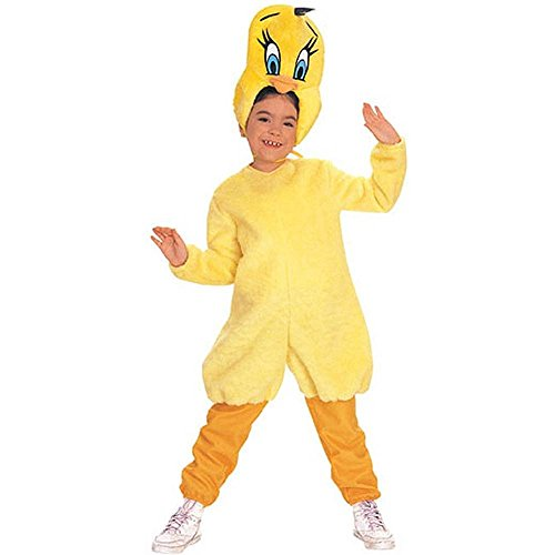 . Adults and Children Tweety Bird Halloween Costumes
