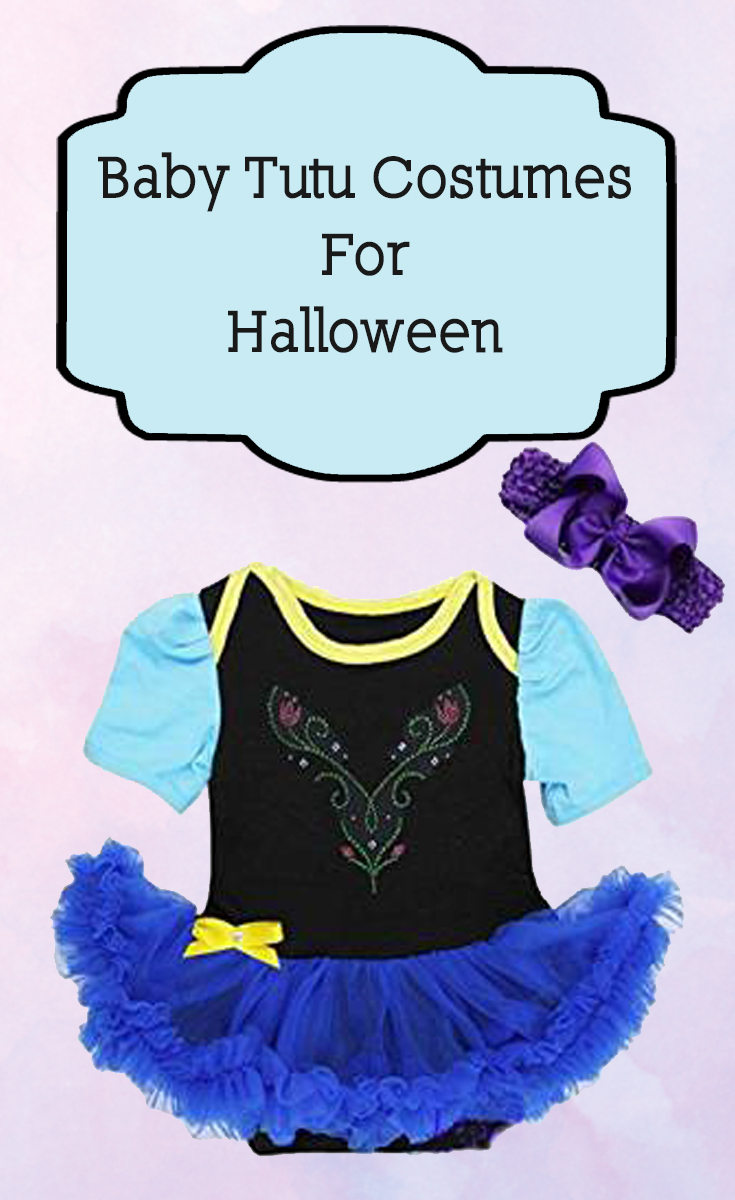 Baby tutu costumes for Halloween are an adorable idea.