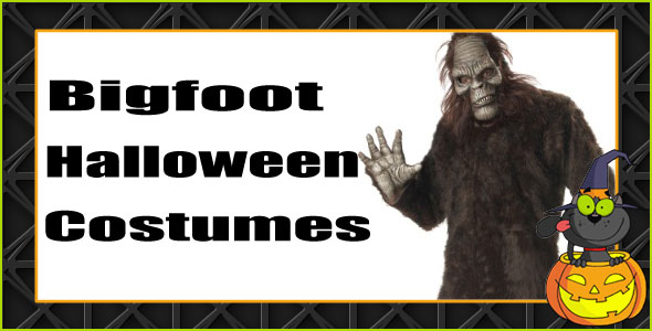 Bigfoot Yeti Sasquatch Halloween costumes