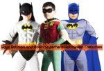 Boys Batman and Robin Superhero Halloween Costumes