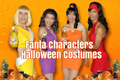 Fanta Characters Halloween Costumes