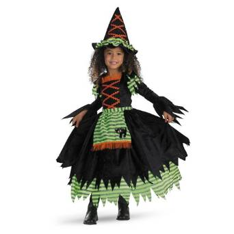 Girls Witch Costumes for Halloween