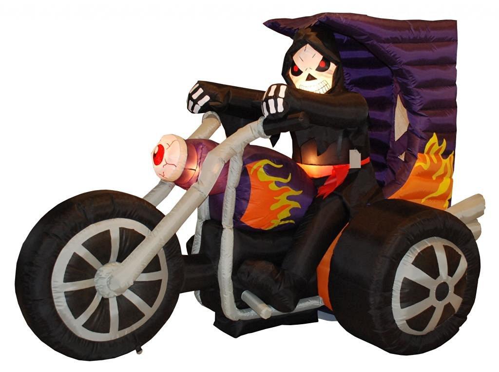 Grim Reaper Halloween Yard Decorations