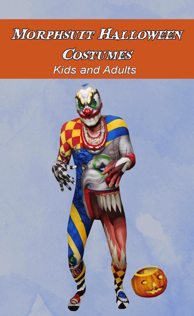 Morphsuit Halloween Costumes