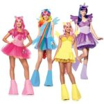 My Little Pony Halloween costumes for Group