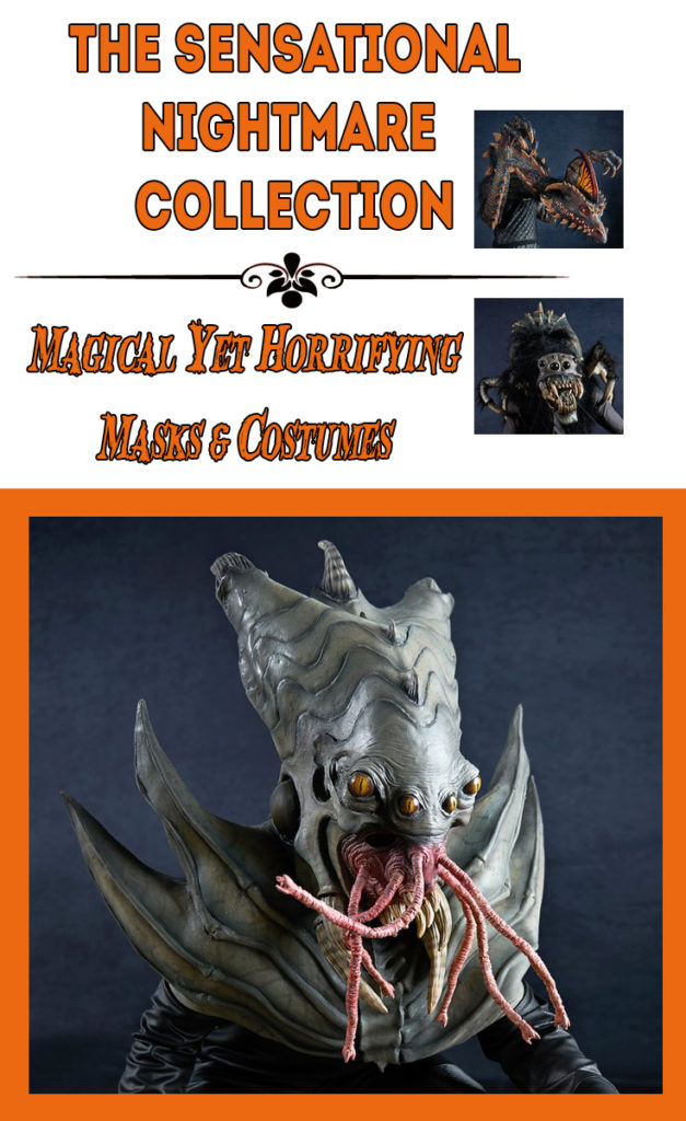 The Sensational Nightmare Collection of Masks and Costumes. The Nightmare Collection of Masks and Costumes is handcrafted by master sculptor Mario Chiodo. Each individual mask and costume is painted by hand and the detailing is fantastic.