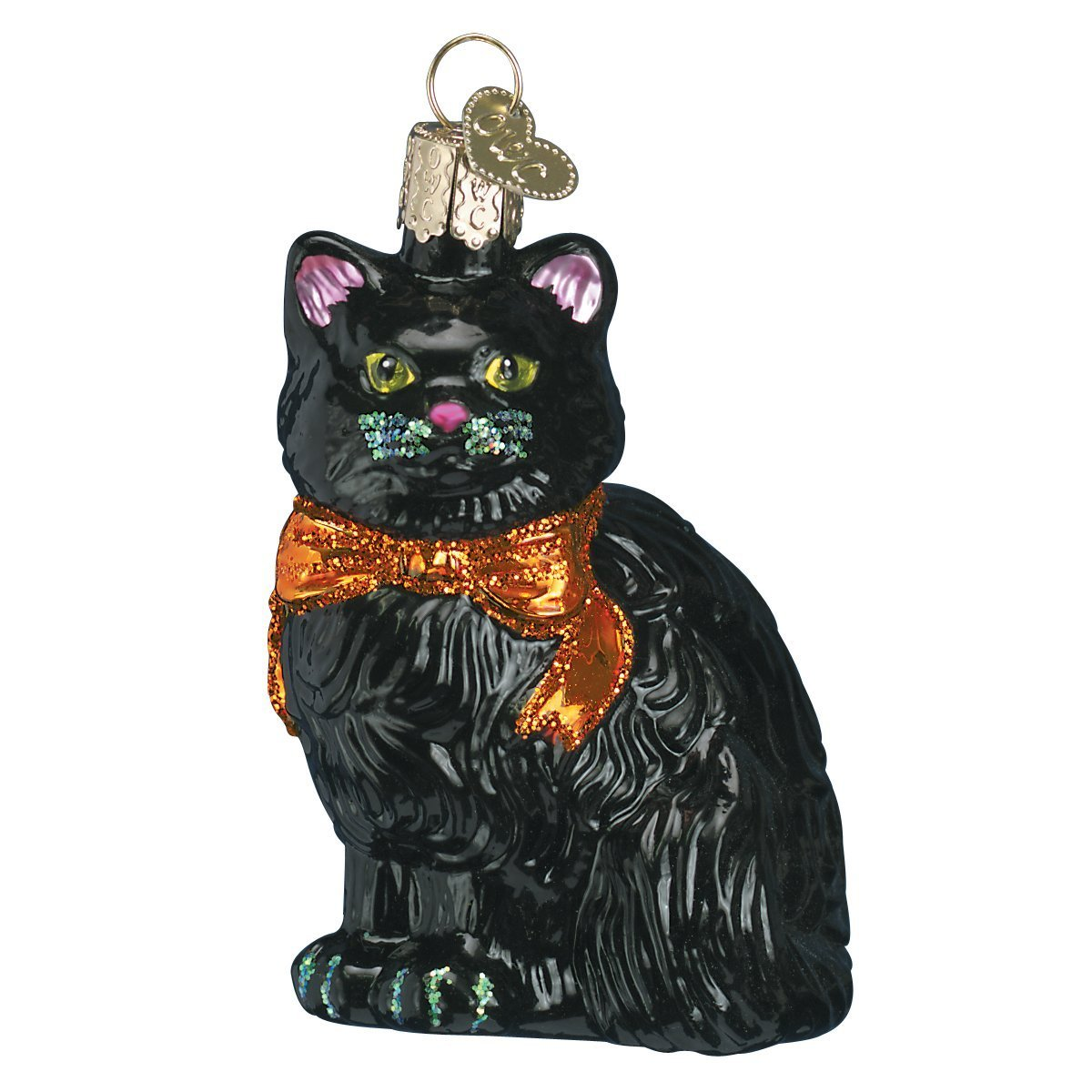 Old World Glass Halloween Ornaments