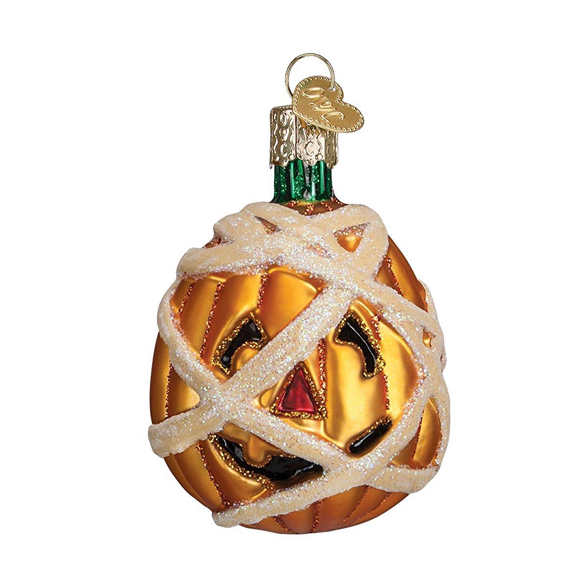 Old World Pumpkin Halloween Ornaments
