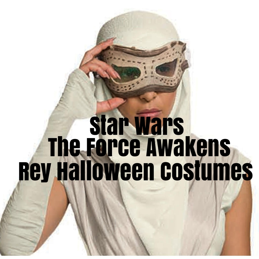 Star Wars The Force Awakens Rey Halloween Costumes