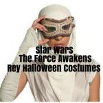 Star Wars The Force Awakens Rey Halloween Costumes