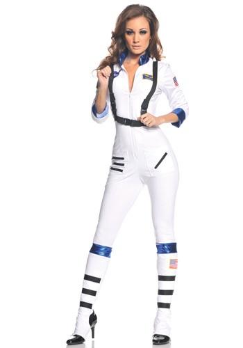 Sexy Female Astronaut Halloween Costume