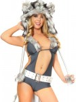 Sexy Midnight Wolf Costume - Animal Halloween Costumes for Women