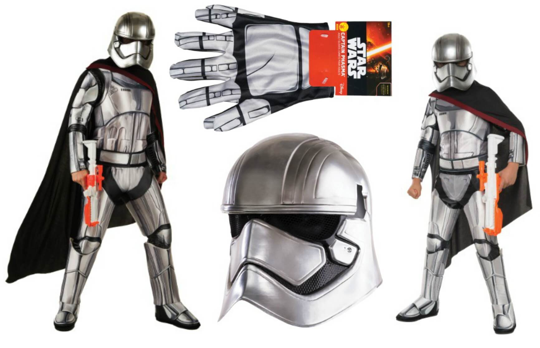 Star Wars The Force Awakens Captain Phasma Halloween Costumes