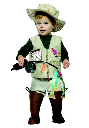 Toddler Fisherman Halloween Costumes