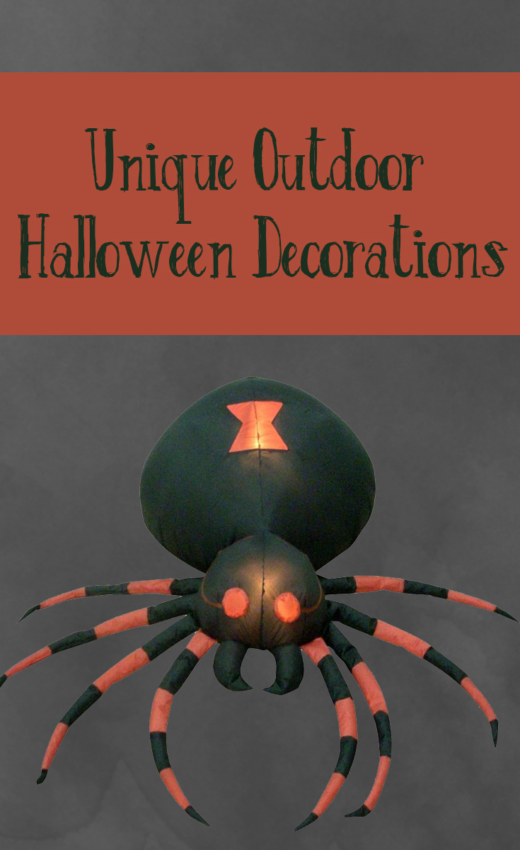 Unique Outdoor Halloween Decorations