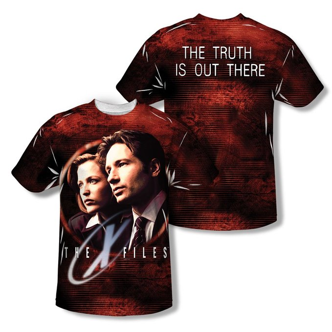 X Files Tee Shirts and Costumes