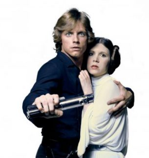 Couples Costumes Luke and Leia Skywalker