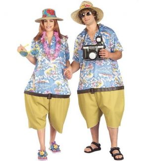 Couples Tacky Traveler Costumes