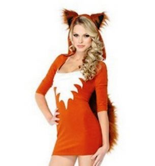 Sexy Fox Costume for Women