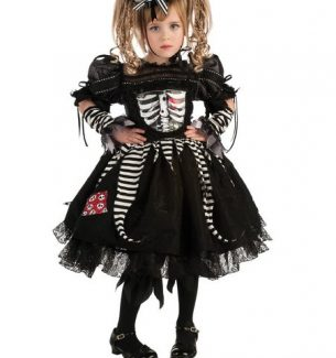 Girls Skeleton Halloween Costumes