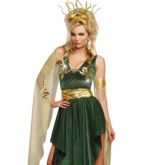 Medusa Halloween Costumes for Women