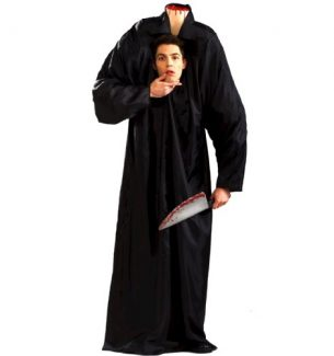 Mens Headless Man Halloween Costume