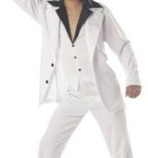 Men's Saturday Night Fever Halloween Costume