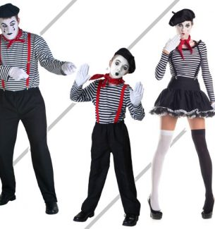 Mime Halloween Costume Kits