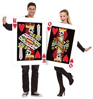 Playing Card Halloween Costumes for Couples