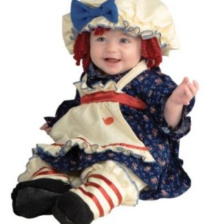 Infant Raggedy Ann and Andy Costumes