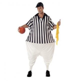 Child and Adult Referee Halloween Costumes