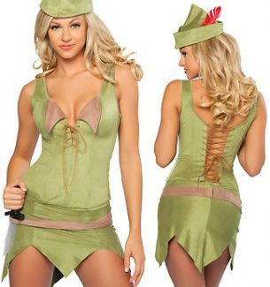 Sexy Peter Pan Halloween Costumes