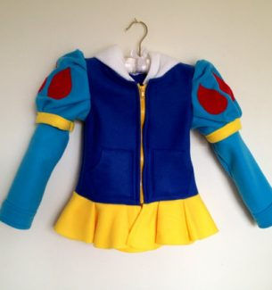 Disney Princess Handmade Halloween Hoodie Shirts