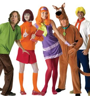 The Scooby Doo Gang Halloween Costumes