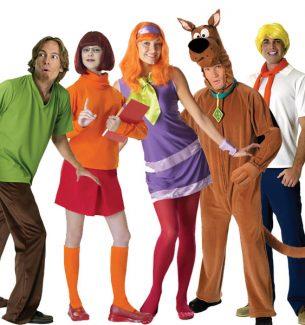 Scooby Doo Gang Halloween Costumes