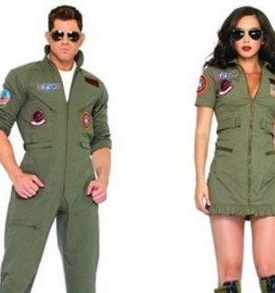 Top Gun Couple Costumes for Halloween
