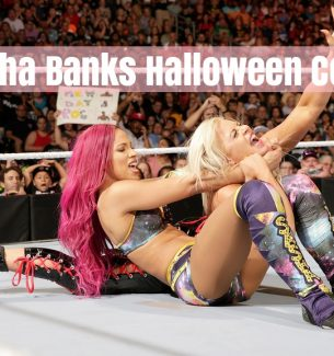 WWE Sasha Banks Superstars Halloween Costumes