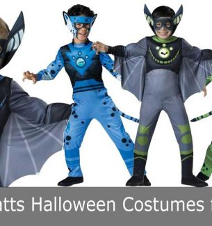 Boys Wild Kratts Halloween Costumes