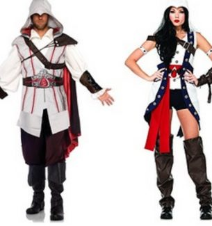 Assassins Creed Halloween Costumes for Adults