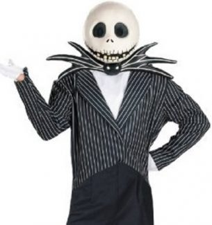 Nightmare Before Christmas Jack Skellington Halloween Costumes